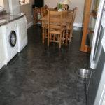new grey kitchen floor